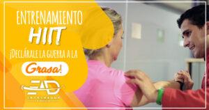 Entrenamiento hiit en Málaga